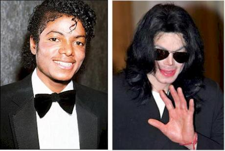 michael jackson then and now