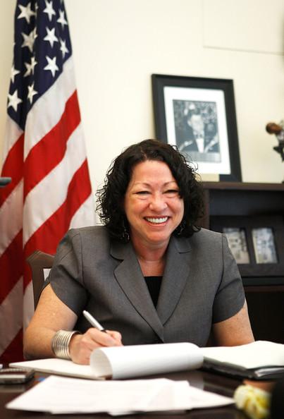 Sonia Sotomayor First Latina Supreme Court Justice